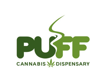 Puff Cannabis Dispensary logo design