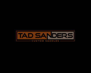 Tad Sanders Custom Saddles logo design