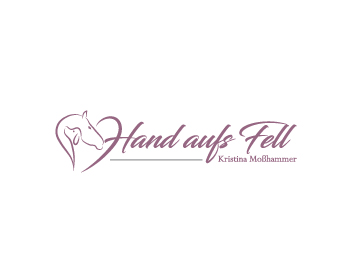 Hand aufs Fell logo design