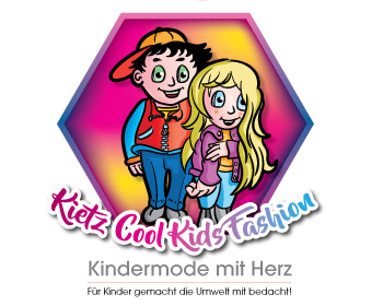 Kietz Cool KIds  Fashion - Kindermode mit Herz logo design
