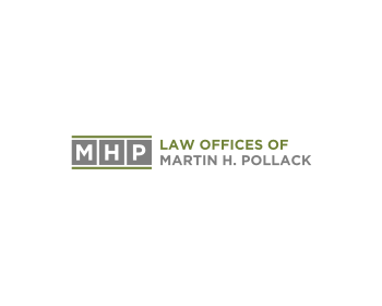 Law Offices of Martin H. Pollack logo design