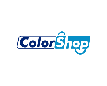 Color Shop logo design
