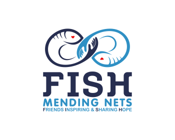 Logo FISH Mending Nets - Friends Inspiring and Sharing Hope