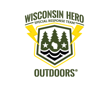Wisconsin Hero Outdoors logo design