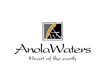 Anola Waters logo design