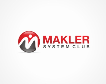Makler System Club logo design