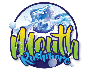 Mouth Rushmore logo design