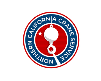 Northern California Crane Service logo design