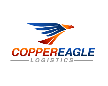 Logo design for Copper Eagle Logistics