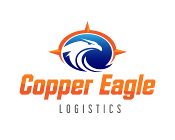 Copper Eagle Logistics logo design