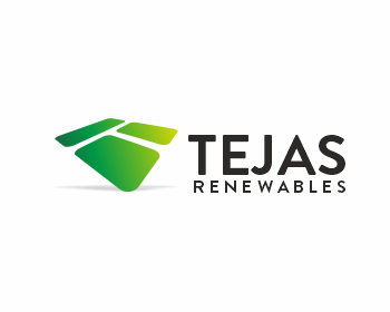 Tejas Renewables logo design