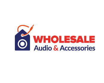 Wholesale Audio & Accessories logo design
