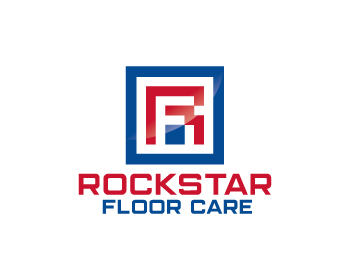 Rockstar Floor Care logo design