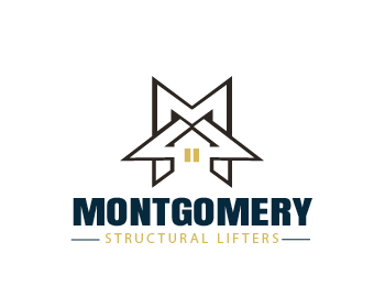 Montgomery Structural Lifters logo design