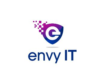 Envy IT SA logo design