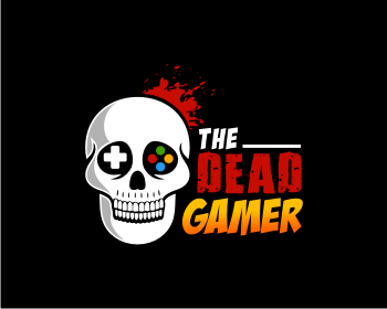 The Dead Gamer logo design