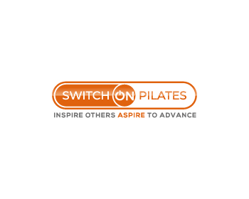 switchonpilates logo design