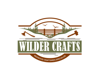 Wilder Crafts logo design