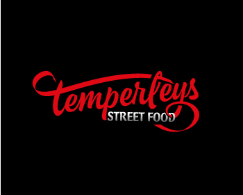 temperleys street food logo design