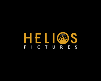 Helios Pictures logo design