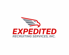 Expedited Recruiting Services, Inc. logo design