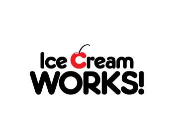 Logo design for Ice Cream Works!