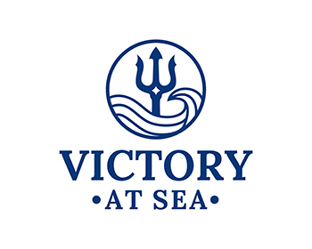Victory At Sea logo design