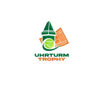 Uhrturmtrophy logo design