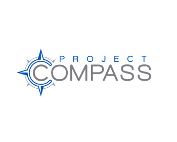 Project Compass logo design