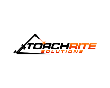 Service Industries logo design for Torchrite Solutions Ltd.