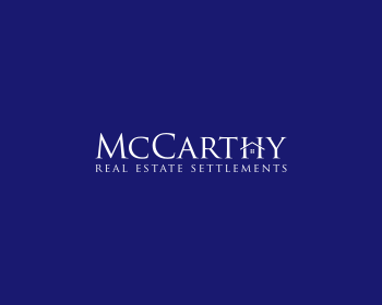 Logo design for McCarthy Real Estate Settlements
