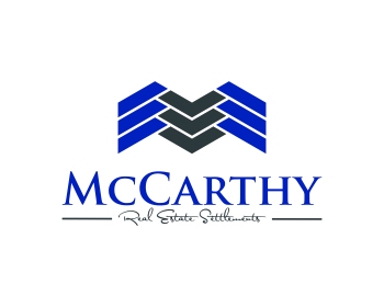 McCarthy Real Estate Settlements logo design