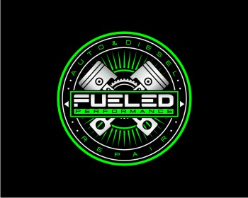Fueled Performance logo design