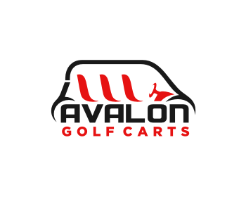 Avalon Golf Carts logo design