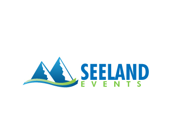 Seeland-Events logo design