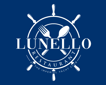 Restaurant logo design for Lunello Restaurant