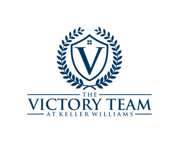 The Victory Team at Keller Williams logo design
