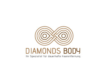 Diamonds Body logo design