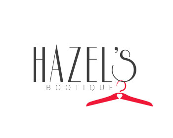 Beauty logo design for Hazel's Bootique