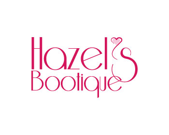 Hazel's Bootique logo design