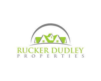 Rucker Dudley Properties logo design