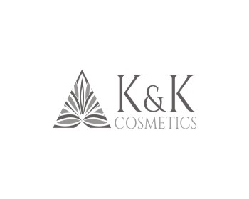 K&K Cosmetics logo design