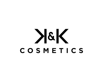 Logo design for K&K Cosmetics