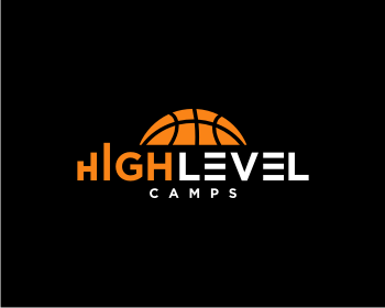 High Level Camps logo design