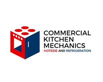 Commercial Kitchen Mechanics logo design