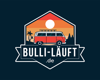bulli-läuft logo design