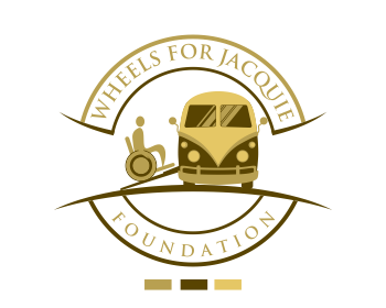 welcome to Wheels for Jacquie Foundation logo design