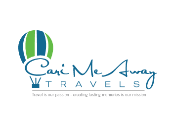 Logo design for Cari Me Away Travels