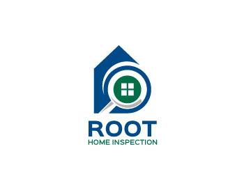 Root Home Inspection logo design