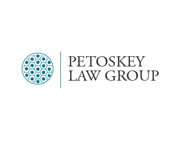 Petoskey Law Group logo design